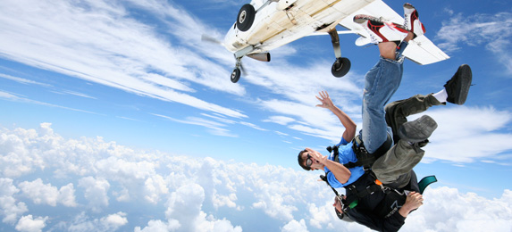 Tandem Skydiving in Birmingham